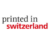 Logo printed in switzerland